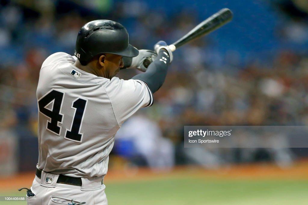MLB: JUL 23 Yankees at Rays : News Photo
