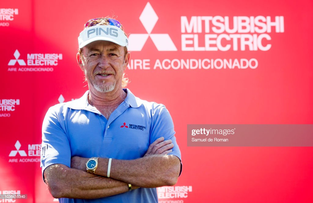 MIguel Angel Jimenez Attends 'GolfDay' Photocall