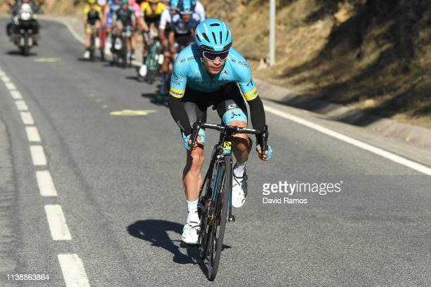 Miguel Angel Lopez Moreno of Colombia and Astana Pro Team / during the 99th Volta Ciclista a Catalunya 2019 Stage 4 a 1503km stage from Llanars Vall...