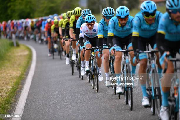 Miguel Angel Lopez Moreno of Colombia and Astana Pro Team White Best Young Rider Jersey / Peloton / during the 102nd Giro d'Italia 2019, Stage 4 a...