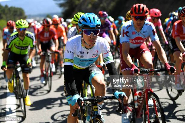 Miguel Angel Lopez of Colombia and Astana Pro Team Green Leader Jersey / during the 99th Volta Ciclista a Catalunya 2019, Stage 6 a 169,1km stage...