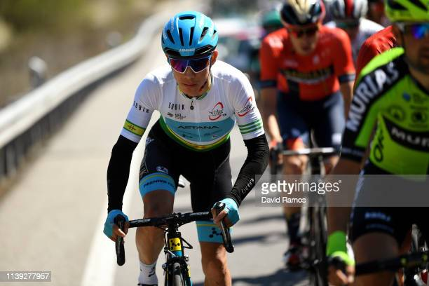 Miguel Angel Lopez of Colombia and Astana Pro Team Green Leader Jersey / during the 99th Volta Ciclista a Catalunya 2019 Stage 6 a 1691km stage from...