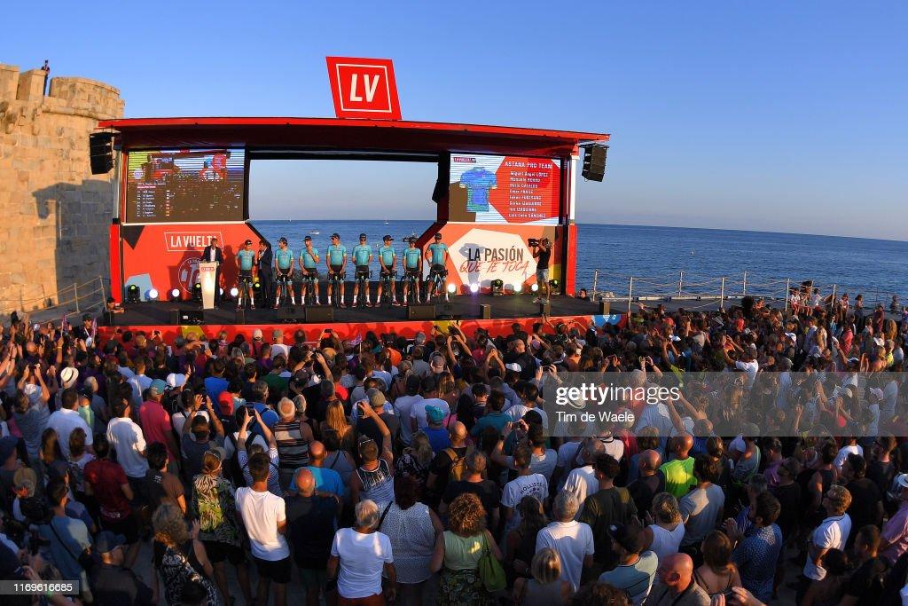 74th Tour of Spain 2019 - Team Presentation : News Photo