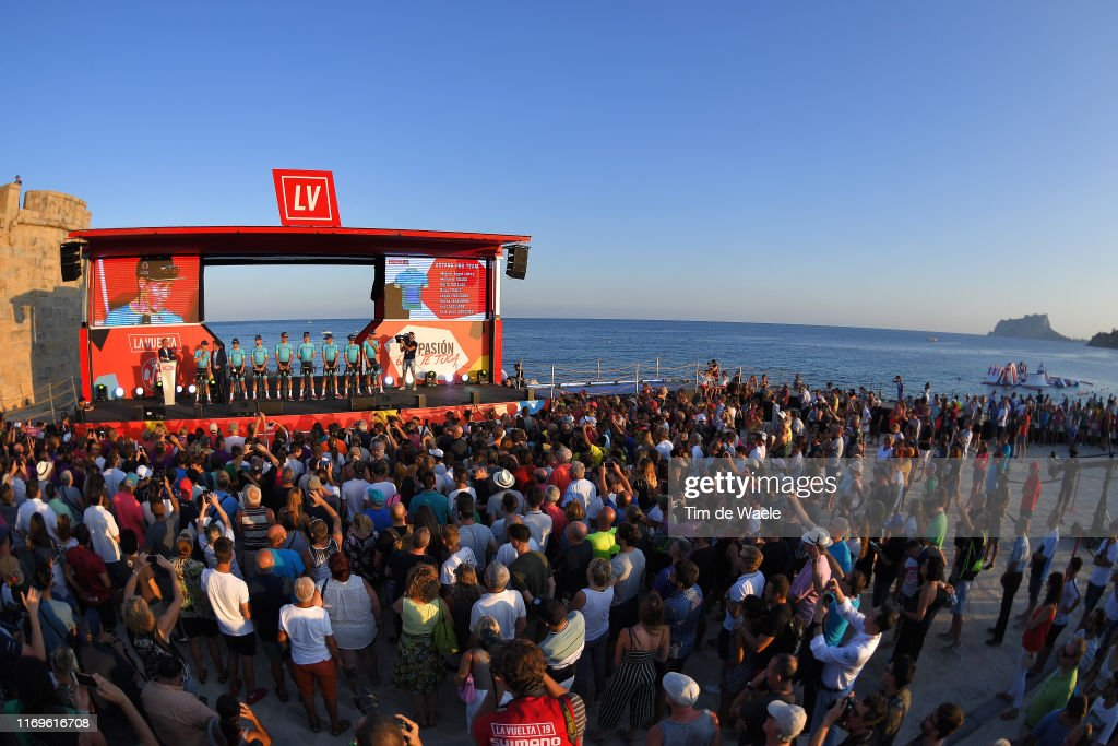 74th Tour of Spain 2019 - Team Presentation : News Photo
