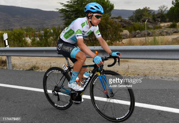 Miguel Angel Lopez of Colombia and Astana Pro Team White Best Young Rider Jersey / during the 74th Tour of Spain 2019 Stage 19 a 1652km stage from...