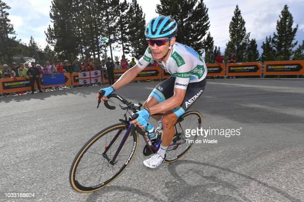 Miguel Angel Lopez of Colombia and Astana Pro Team White Combined Jersey / during the 73rd Tour of Spain 2018, Stage 19 a 154,4km stage from Lleida...