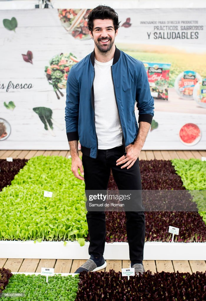Miguel Angel Munoz Attends 'El Huerto de Florette' in Madrid