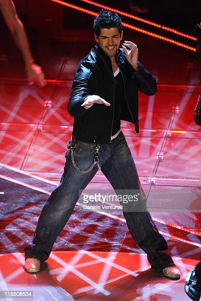 Miguel Angel Munoz during 57th San Remo Music Festival - Day 3 at Teatro Ariston in Sanremo, Italy.