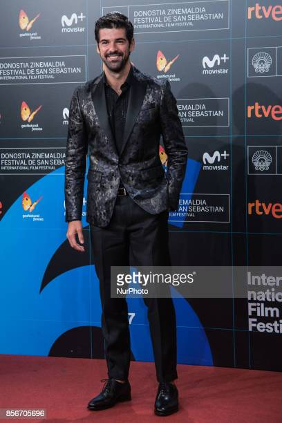 Miguel Angel Muñoz attends the red carpet of the closure gala during 65th San Sebastian Film Festival at Kursaal on September 30 2017 in San...