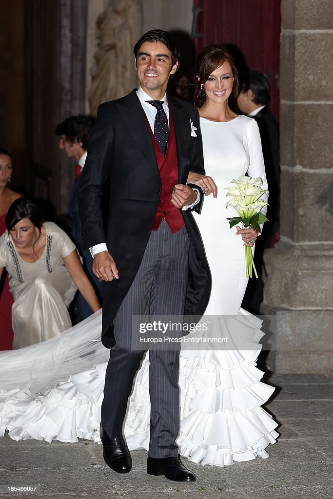 Miguel Angel Perera and Veronica Gutierrez's Wedding In Salamanca