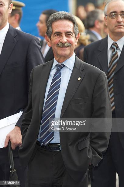 Miguel Angel Revilla attends the Prince of Asturias Awards 2012 ceremony at the Campoamor Theater on October 26 2012 in Oviedo Spain