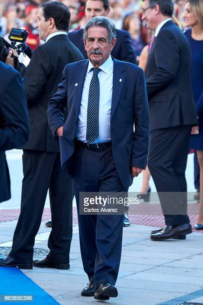 Miguel Angel Revilla attends the Princesa de Asturias Awards 2017 ceremony at the Campoamor Theater on October 20 2017 in Oviedo Spain