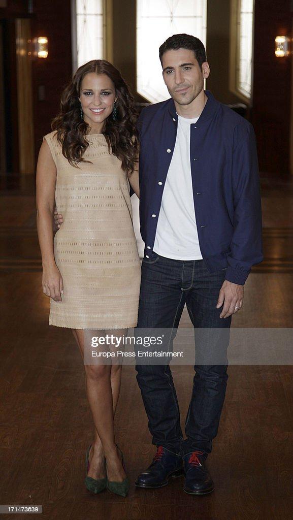'Galerias Velvet' On Set Filming in Madrid : News Photo