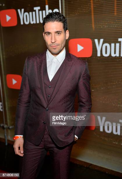 Miguel Angel Silvestre at YouTube Musica sin fronteras A Celebration of Latin Music at Jewel Nightclub at the Aria Resort Casino on November 15 2017...