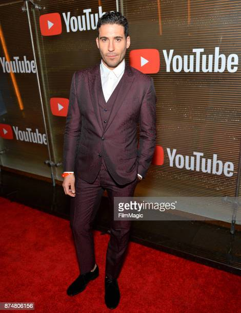 Miguel Angel Silvestre at YouTube Musica sin fronteras A Celebration of Latin Music at Jewel Nightclub at the Aria Resort & Casino on November 15,...