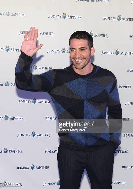 Miguel Angel Silvestre attends a Bombay Sapphire Christmas tree lighting event on December 4 2013 in Barcelona Spain