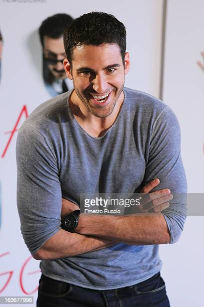 Miguel Angel Silvestre attends 'Los Amantes Pasajeros' photocall at Recidence Ripetta on March 14 2013 in Rome Italy