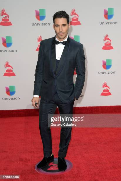 Miguel Angel Silvestre attends the 18th Annual Latin Grammy Awards at MGM Grand Garden Arena on November 16, 2017 in Las Vegas, Nevada.