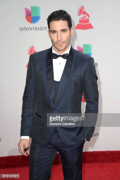 Miguel Angel Silvestre attends the 18th Annual Latin Grammy Awards at MGM Grand Garden Arena on November 16 2017 in Las Vegas Nevada