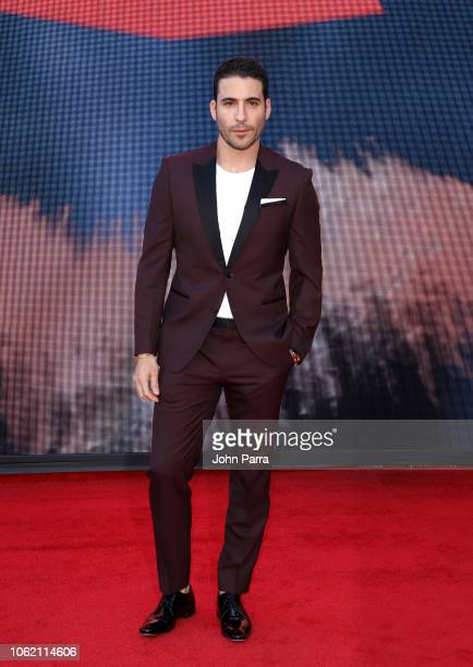 Miguel Angel Silvestre attends the 19th annual Latin GRAMMY Awards at MGM Grand Garden Arena on November 15, 2018 in Las Vegas, Nevada.