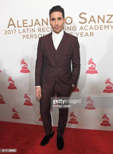 Miguel Angel Silvestre attends the 2017 Person of the Year Gala honoring Alejandro Sanz at the Mandalay Bay Convention Center on November 15, 2017 in...