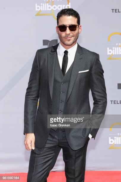 Miguel Angel Silvestre attends the 2018 Billboard Latin Music Awards at the Mandalay Bay Events Center on April 26 2018 in Las Vegas Nevada