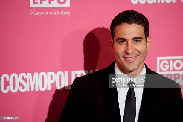Miguel Angel Silvestre attends the Cosmopolitan Fun Fearless Female Awards 2013 at the Ritz Hotel on October 22 2013 in Madrid Spain