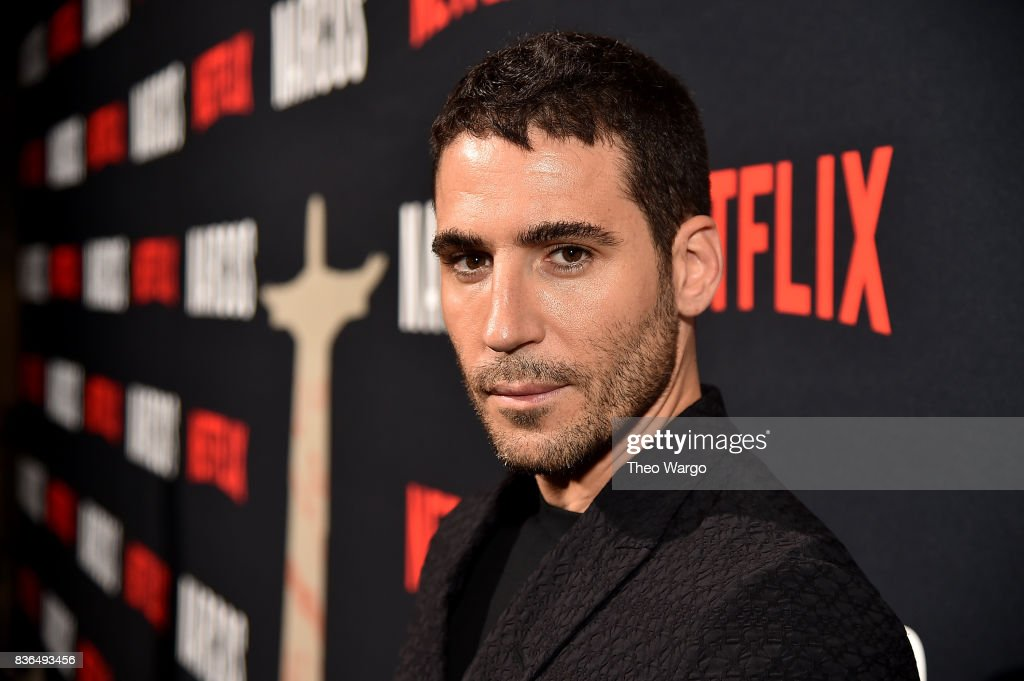 Miguel Angel Silvestre attends the 'Narcos' Season 3 New York Screening at AMC Loews Lincoln Square 13 theater on August 21, 2017 in New York City.