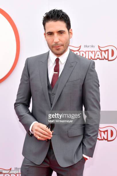 Miguel Angel Silvestre attends the screening of 20th Century Fox's 'Ferdinand' at Zanuck Theater at 20th Century Fox Lot on December 10 2017 in Los...