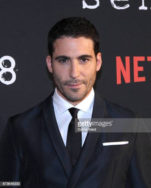 Miguel Angel Silvestre attends the Sense8 New York Premiere at AMC Lincoln Square Theater on April 26 2017 in New York City