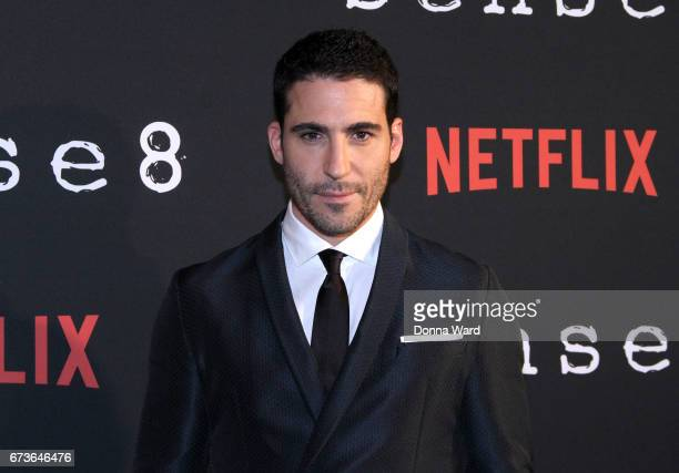 Miguel Angel Silvestre attends the 'Sense8' New York Premiere at AMC Lincoln Square Theater on April 26 2017 in New York City