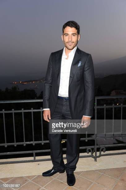 Miguel Angel Silvestre attends the Taormina Arte Award during the Taormina Film Fest 2010 on June 16 2010 in Taormina Italy