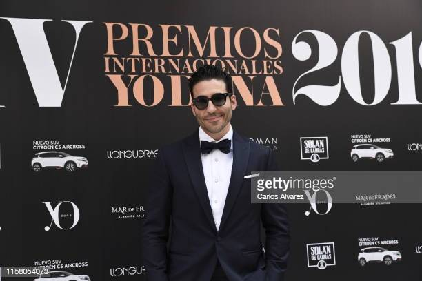 Miguel Angel Silvestre attends 'Yo Dona' International Awards 2019 on June 24, 2019 in Madrid, Spain.