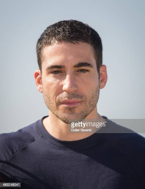 Miguel Angel Silvestre poses during the photocall of 'Velvet' at MIPTV 2014 at Hotel Majestic on April 7 2014 in Cannes France