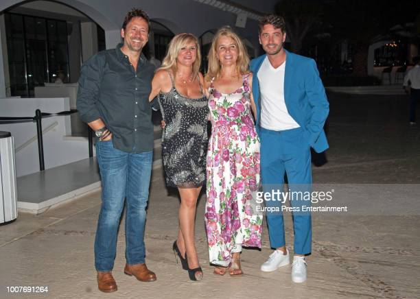 Miguel Angel Tobias attends the homage to Angel Nieto organised by Adlib Moda Ibiza at Destino hotel on July 27 2018 in Ibiza Spain