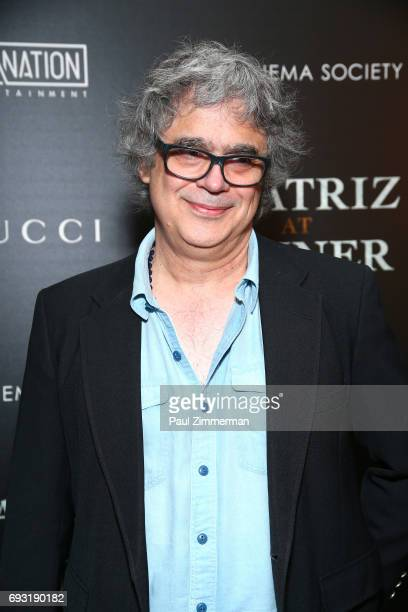"""Miguel Arteta attends the Gucci & The Cinema Society Host A Screening Of Roadside Attractions' """"Beatriz At Dinner"""" at the Metrograph on June 6, 2017..."""