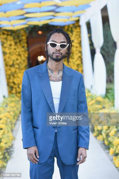 Miguel attends 2019 Roc Nation THE BRUNCH on February 9 2019 in Los Angeles California