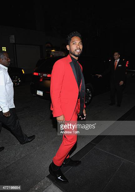 Miguel attends Michael Kors and iTunes After Party at The Mark Hotel on May 4 2015 in New York City
