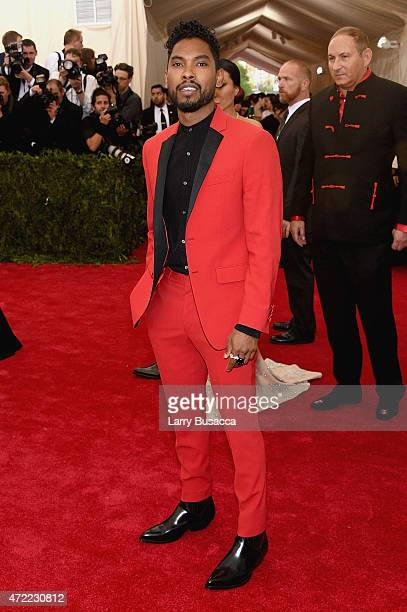 Miguel attends the 'China Through The Looking Glass' Costume Institute Benefit Gala at the Metropolitan Museum of Art on May 4 2015 in New York City