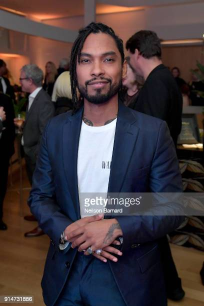 Miguel attends The Hollywood Reporter 6th Annual Nominees Night at CUT on February 5 2018 in Beverly Hills California