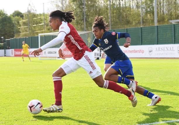 GBR: Arsenal v Southampton: Premier League 2