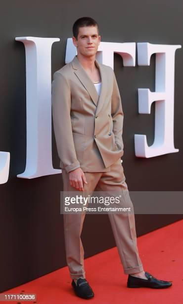 "Miguel Bernardeau attends ""Elite"" 2nd Season Premiere at Callao Cinema on August 29, 2019 in Madrid, Spain."