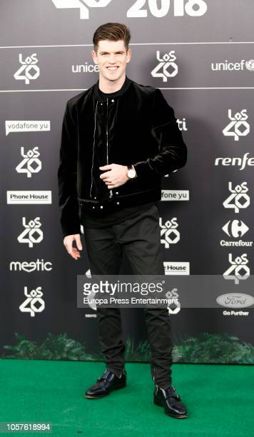 Miguel Bernardeau attends 'LOS40 Music Awards' 2018 at WiZink Center on November 2 2018 in Madrid Spain