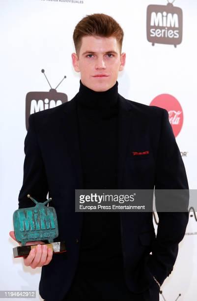Miguel Bernardeau attends 'MiM' awards 2019 at Hotel Puerta de America on December 17 2019 in Madrid Spain
