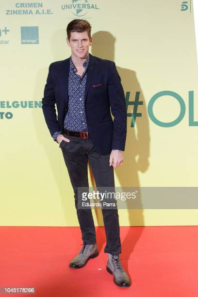 Miguel Bernardeau attends the 'Ola de crimenes' premiere at Capitol cinema on October 3 2018 in Madrid Spain