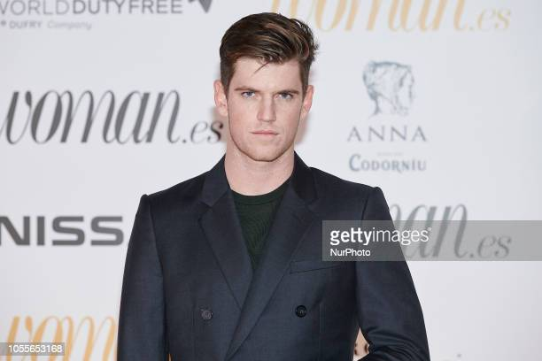 Miguel Bernardeau attends the Woman Magazine Awards photocall at Madrid's Casino on October 30 2018