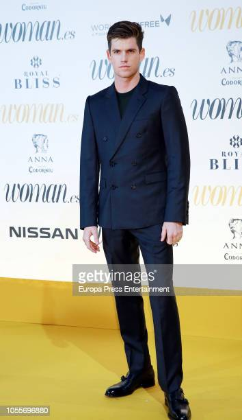 Miguel Bernardeau attends the Woman Magazine Awards photocall at Madrid's Casino on October 30 2018 in Madrid Spain