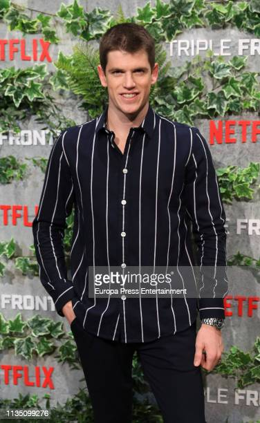 Miguel Bernardeau attends 'Tripe Frontier' Madrid at Callao Cinema on March 05, 2019 in Madrid, Spain.