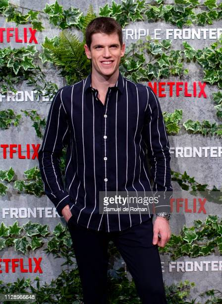 Miguel Bernardeau attends Triple Frontier European Special Screening at Callao Cinema on March 6 2019 in Madrid Spain