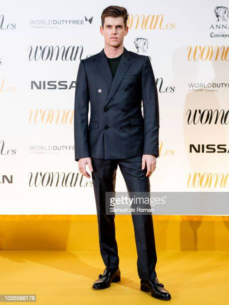 Miguel Bernardeau attends Woman awards 2018 at the Casino de Madrid on October 30 2018 in Madrid Spain